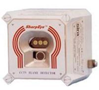 CCTV视频+三频红外火焰探测器