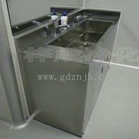 热烈祝贺我司为广州豆家旺花泉食品有限公司生产一批不锈钢洗手池净化衣柜等一次性验收通过