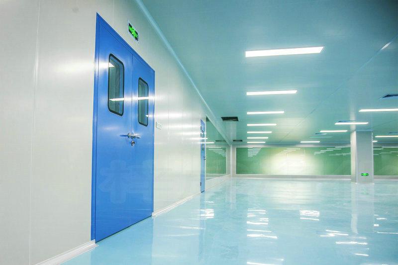 我司為廣州市金再來保健飲料食品有限公司承建十萬級無塵室一次性驗收通過