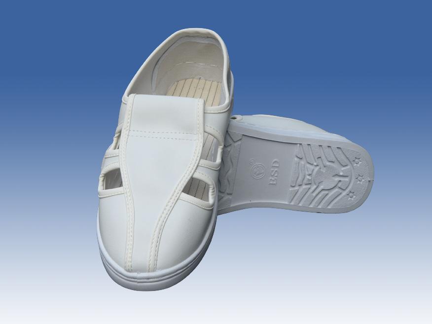 防静电皮鞋