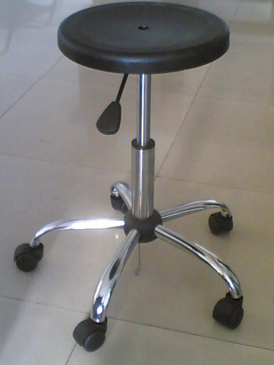 防静电气动升降圆凳