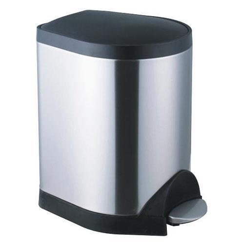 脚踏垃圾桶-不锈钢
