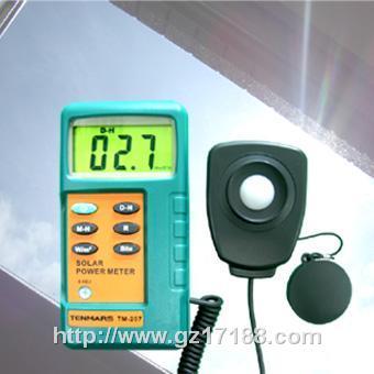 太阳能功率表TM-207