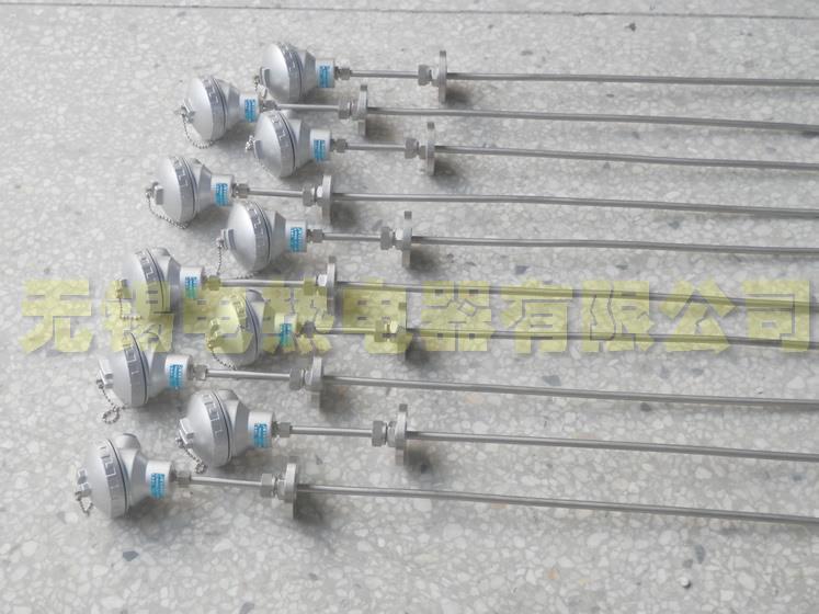 仿日接线盒法兰固定型pt100温度传感器 pt100