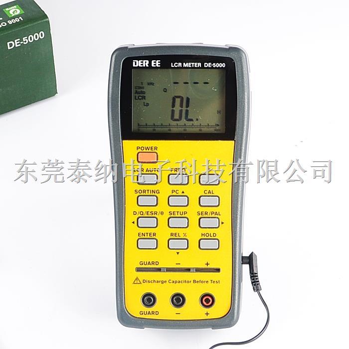 台湾得益 DE-5000 双显示LCR电表
