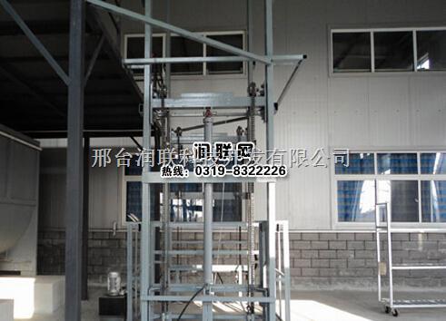 新疆液压导轨式升降货梯和固定剪叉式升降货梯完整性图片