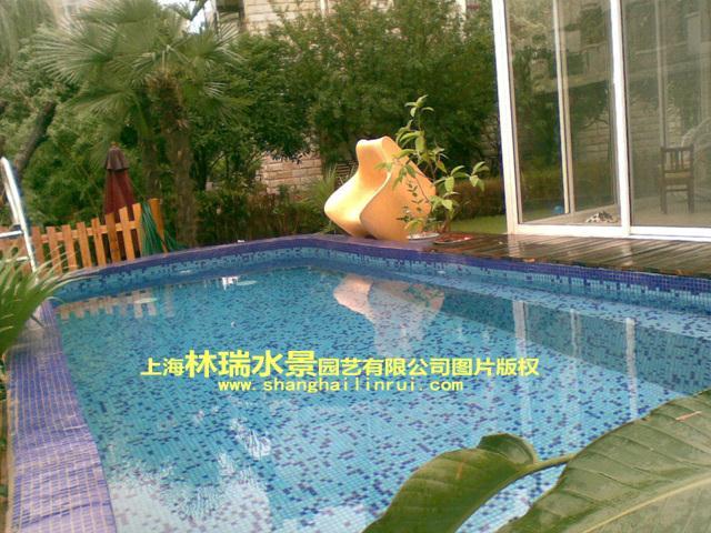 长岛花园别墅游泳池设计安装工程