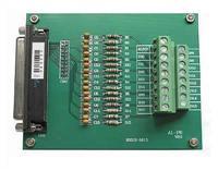 信号10倍以内放大端子板,16输入,通过20芯扁平电缆输出