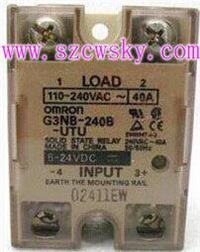 日本歐姆龍G3NB-240B-UTU固态繼電器 G3NB-240B-UTU