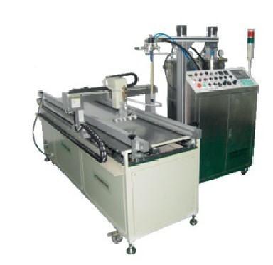 dual fluid encapsulating compound machine