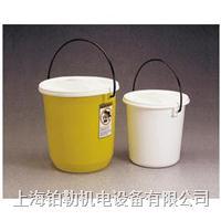 Nalgene气密提桶,白色低密度聚乙烯,7102-0110