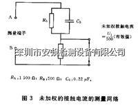IEC60990/GB12113圖3圖5接觸電流人體網絡