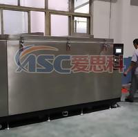承重5吨的-196℃液氮深冷處理设备交付