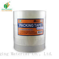 shenzhen  bull packaging material easy tear bopp adhesive stationey tape