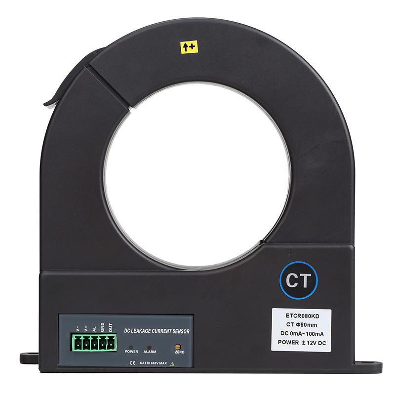 ETCR080KD开合式直流漏电流传感器