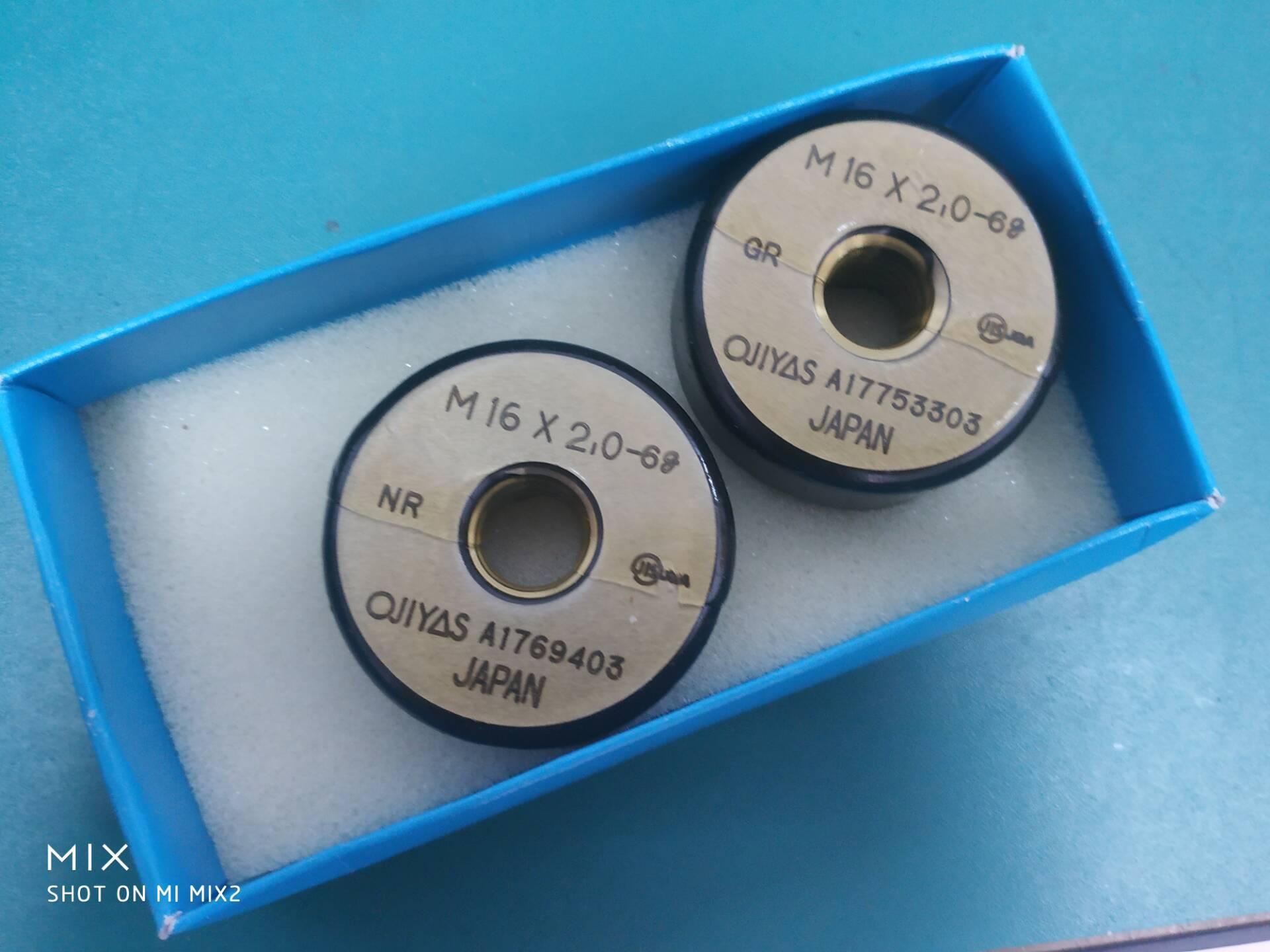 日本OJIYAS螺纹环规M5*0.8 GRWRII原装